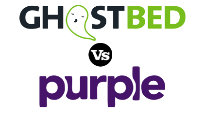 purple vs ghost bed l ghostbed review l purple review