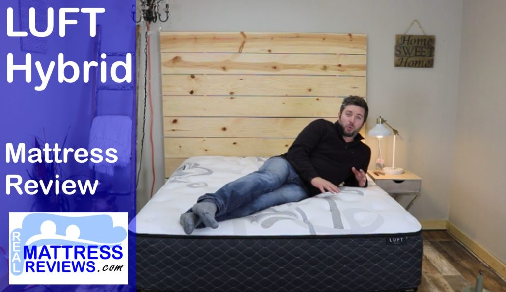 Luft Mattress Review L Luft Hybrid Review Discount Code