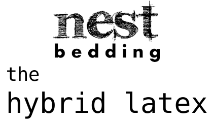 nest bedding hybrid latex
