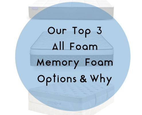 top 3 memory foam mattresses