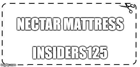 Nectar Mattress Coupon Code